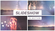 Slideshow in Motion com After Effects